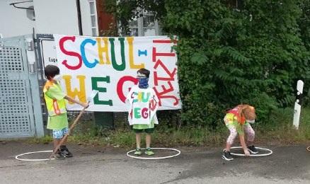 Zeitnahe Umsetzung Schulweg Eugen-Neter-Schule