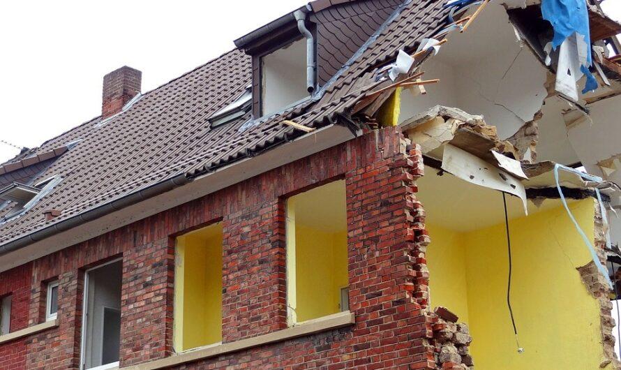 Abriss, Neubau und Umwandlung von Wohnungen
