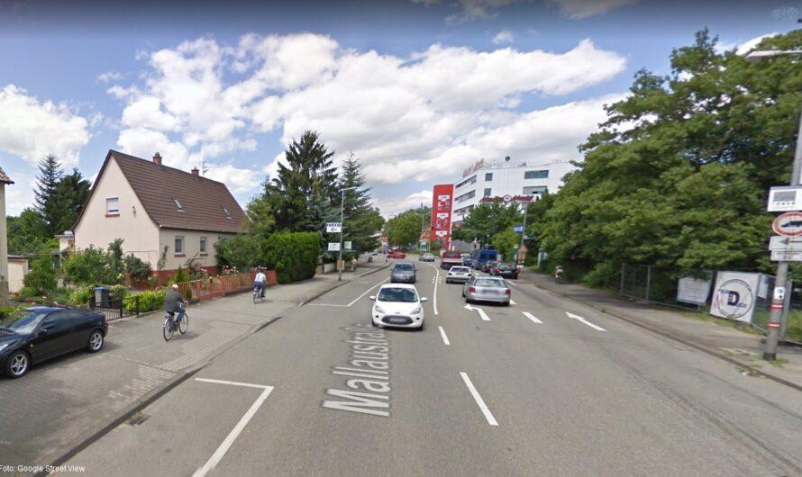 Lärmschutz, Sicherheit für Radverkehr und Verkehrsberuhigung in der Mallaustraße